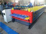 金属成型设备金江现货供应实心轴双层压瓦机设备彩钢瓦设备 压瓦机设备保修一年