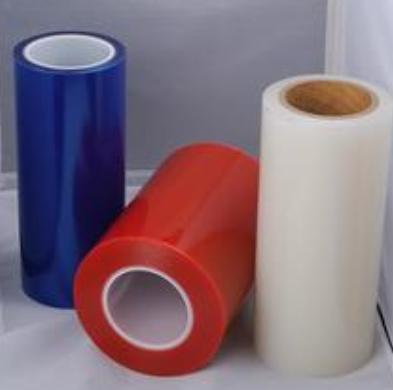 蓝色PE保护膜 PE蓝色网纹保护膜