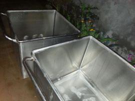 华杰不锈钢材质自动上料机用料车加工定制