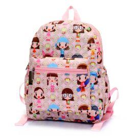 厂家直销幼儿园书包双肩旅行收纳背包涤纶防水面料小书包