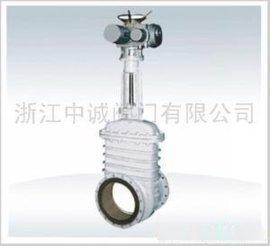 供應中誠PZ941TC陶瓷電動耐磨排渣閘閥、陶瓷排渣閥