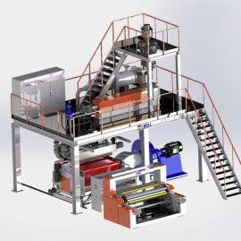 苏州金韦尔机械熔喷布挤出机生产线