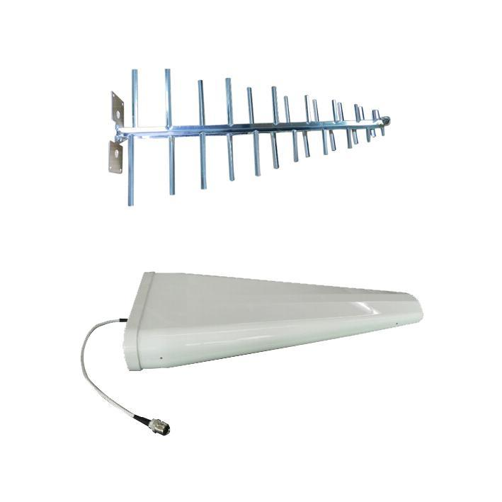 2.4G  12dBi 加罩对数周期 天线 美化八木