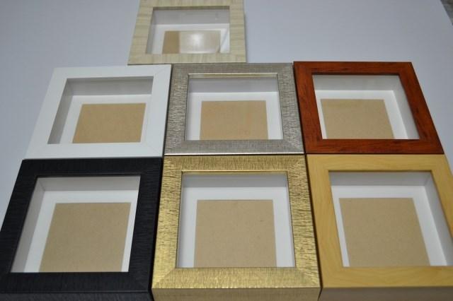 簡約立體相框/標本框 47mm加厚款(內淨高3CM) 立體工藝禮品畫框