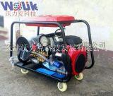 沃力克超強**壓管道疏通機, 鋼廠專用超大流量除鏽高壓清洗機