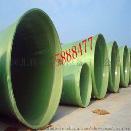 玻璃钢排水管道|夹砂输水管|通风管|腾润环保