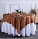 酒店桌布提花桌布饭店酒楼台布婚礼勾花高档台布椅套