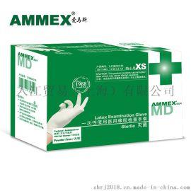 AMMEX爱马斯TLFCMDSi一次性乳胶手套