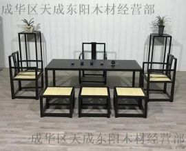 自贡定制博古架家具厂-实木家具中式厂家在成都