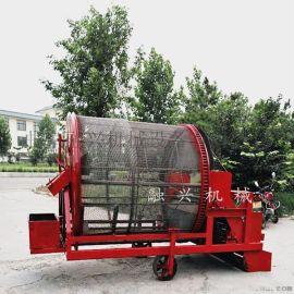 滚筒式半夏元胡贝母收获机, 滚筒药材挖掘机