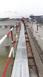 安徽工地施工中--瑞涛钢跳板 脚手板 钢架板 新型热镀锌钢跳板
