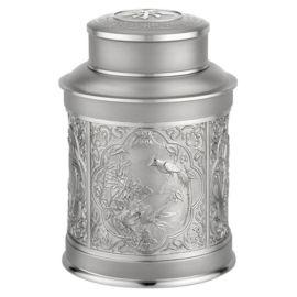 泰国锡器 盛世吉祥中号锡罐 商务友情馈赠 家居实用庆典礼仪 赠礼
