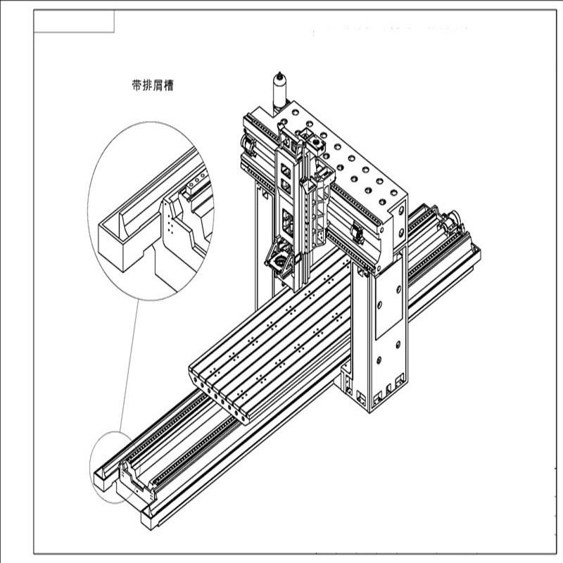 数控机床 龙门光机机床铸件多少钱?