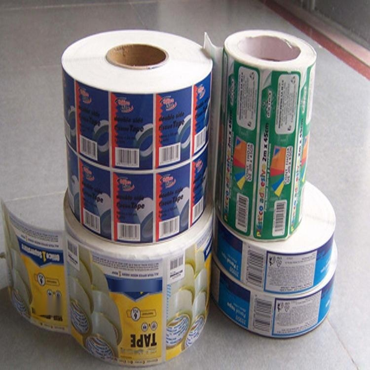 条码纸彩色透明广告标签/商标贴纸不干胶