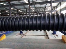 高密度聚乙烯HDPE缠绕结构壁B型管链接方法
