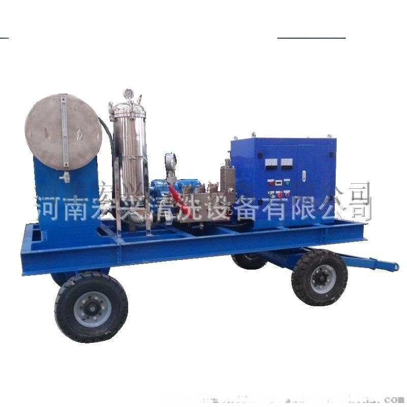 工業設備高壓除鏽清洗機 鑄鐵件除鏽除油清洗機