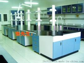 广东君鸿净化钢木实验室中央实验台 实验室家具工厂