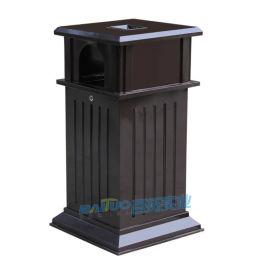 不鏽鋼戶外垃圾桶公園果皮箱金屬分類垃圾桶廠家直銷