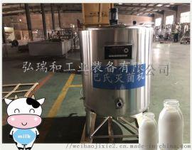 鲜奶加工设备 鲜奶巴氏灭菌机
