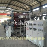 PVC/PE/PP/PS塑料板材设备