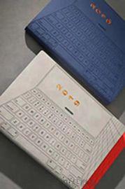 彩凸烫金商务软皮PU笔记本创意文具记事本定制