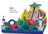 超能量儿童充气城堡