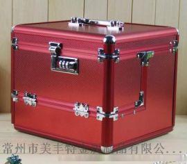 铝合金化妆箱 新款密码锁化妆箱女包