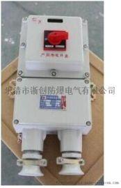 带漏电保护防爆断路器
