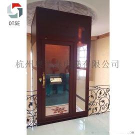 OTSE无机房家用电梯 安全平稳观光式别墅电梯