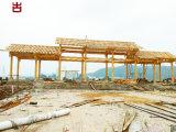 廣元實木廊架廠家,景區遊廊走廊設計定製