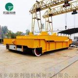 重慶32噸重型電纜滾筒式橋樑噴砂平車設備