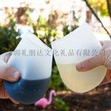 硅胶红酒杯防滑可折叠葡萄酒杯旅行硅胶水杯