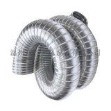 纯铝制阻燃耐高温烘干机热水器排风排烟管通风伸缩软管