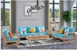 实木家具生产厂家--沙发组合