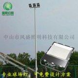 籃球場網球場如何佈置燈杆位置
