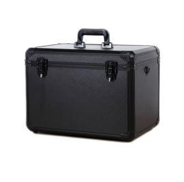 厂家推荐黑色铝合金手提箱