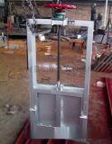 弘洋1.2米1米2不锈钢机门一体水闸门