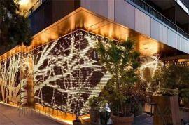 外牆雕花鋁單板 10mm厚雕刻鏤空鋁單板定做