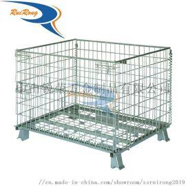 廠家直銷倉庫用可折疊鍍鋅蝴蝶籠倉儲籠可定制