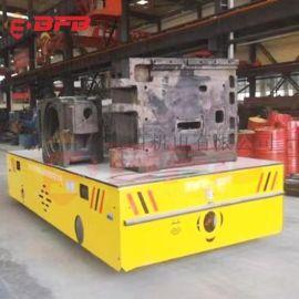 智能物流系统55吨钢管运输地轨车 电缆卷筒电动平车