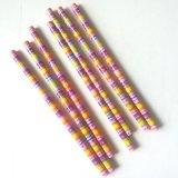 创意铅笔 顺意文具新款套膜铅笔 12支彩盒装 厂家批发直销 可定制