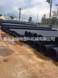 **pe钢带缠绕排水管生产线价格