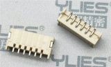 PCB连接器1.5mm 卧贴单排插针 电路板连接器