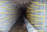 電線電纜支架 玻璃鋼電線管支架 牆面支撐架製作安裝