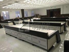 中泽凯达生产钢木结合控制台,机房监控控制台厂家