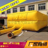 高空消防救生救援安全逃生氣墊 工地安全跳樓防護墊 充氣防摔氣墊