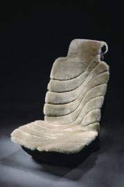 冬季羊毛坐垫