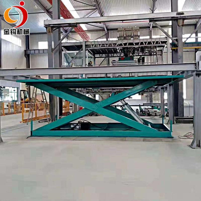 升降平台固定移动式汽车举升机卸猪羊台地坑升降机小型简易上卸货