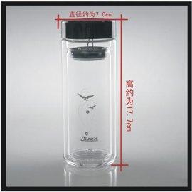 双层玻璃口杯-807