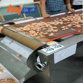 厂家供应温州青岛微波烤虾设备 青岛海虾熟化烤制 隧道式微波设备